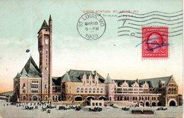 Etats Unis. Union Station, Saint Louis. Coins émoussés - St Louis – Missouri