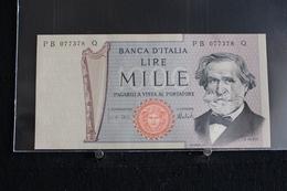 M-An / Billet  -  Italie - République Banca D'Italia  - 1000 Lire  ( G Verdi ) / Année 1969 - [ 2] 1946-… Republik