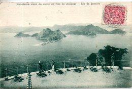 Brésil. Panorama Visto Do Cume Do Pao De Assucar, Rio De Janeiro - Rio De Janeiro