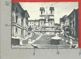 CARTOLINA NV ITALIA - ROMA - Piazza Di Spagna - Trinità Dei Monti - 10 X 15 - Piazze
