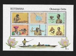 BOTSWANA    1978 Okavango Delta  ** Minisheet - Botswana (1966-...)