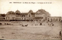 CPA -  TROUVILLE - LE CASINO VU DE LA MER - Trouville