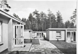 """AK 0189  Schmannewitz ( Dahlener Heide ) - FDGB Erholungsheim """" Köthe-Kollwitz-Hütte / Ostalgie , DDR Um 1981 - Dahlen"""