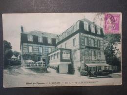 76 - Veules Les Roses - CPA - Hôtel De France - L. Gouot - 1911 - - Veules Les Roses