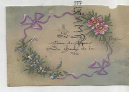 """Magnifique Dessin Sur Silicone, Ruban, Fleurs:""""L'amitié Sème De Fleurs Le Chemin De La Vie"""". - Autres"""