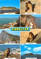 Gibraltar - Multivues- Rock Photographfics Nº C 42 - 6330 - Gibraltar