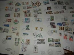 Collection , Monaco 46 Premiers Jours Des Annees 60-70 - Timbres