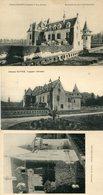 Lot De 3 CPA - LEOGNAN - Château OLIVIER - France