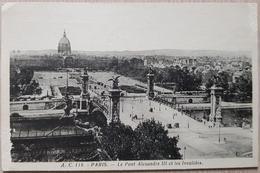 France Paris Le Pont Alexandre 1938 - France