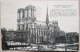 France Paris Notre Dame 1928 - France