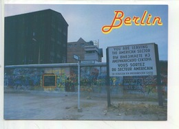 Berlin : Schönes Berlin - Mauermalerei (graffiti) - Mur De Berlin