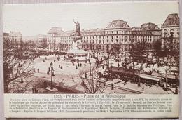 France Paris Place De La République 1927 - France