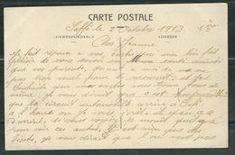 MAROC 1913 CPA Marrakech En FM Rgt De Marche Des Zouaves - Marcophilie (Lettres)