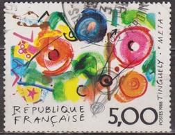 Série Artistique - FRANCE - Peinture Moderne - Oeuvre Originale De Tinguely: Meta - N° 2557 - 1988 - France