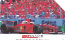 SCHEDA TELEFONICA  FERRARI MACCHINA 97  SCADENZA 31/12/1999 USATA - Italy