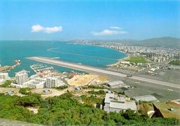 Gibraltar - Aéroport Et Côte Espagnole Au Fond - Rock Photographic Nº C 30 - 6333 - Gibraltar