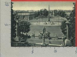 CARTOLINA NV ITALIA - ROMA - Piazza Del Popolo - Fotoseta - 10 X 15 - Piazze