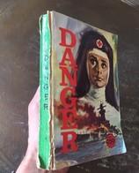 DANGER ALBUM N°   1 (N° 1-2-3-4-5) - PETIT FORMAT GUERRE - EDITIONS EDI EUROP - 1967 -  ETAT MOYEN - Petit Format