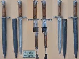 Baïonnette / Bayonet / Bajonett / Baioneta Autriche 1895 - Armes Blanches