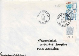 TP  N° 2213 Seul Sur Enveloppe De Granville - 1961-....