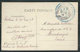 MAROC 1918 CPA Troupes Coloniales Meknes - Marcophilie (Lettres)