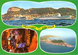 Gibraltar - Multivues - Rock Photographic Service Nº C 13 - 6336 - Gibraltar