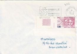TP  N° 2218 Seul Sur Enveloppe De Granville - Marcophilie (Lettres)