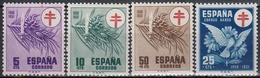 ESPAÑA 1950 Nº 1084/87 NUEVO PERFECTO - 1931-Hoy: 2ª República - ... Juan Carlos I