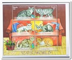 Tuvalu 2008, Postfris MNH, Cats - Tuvalu