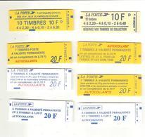 Lot De 8 Carnets Non Ouverts N° 1501 à 1508 - Carnets