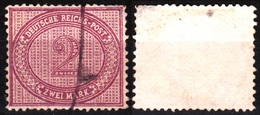 GERMANY / REICH 1875 Local Service Michel #37, Used / Annulated - Deutschland