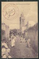 MAROC 1918 CPA Fez  Rgt De Spahis - Marcophilie (Lettres)