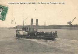 Retour D'excusion à CALAIS - Calais