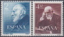 ESPAÑA 1952 Nº 1119/20 NUEVO PERFECT0 - 1951-60 Usados