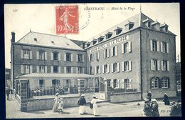 Cpa Du 22 Perros Guirec Hôtel De La Plage    ACH5 - Perros-Guirec