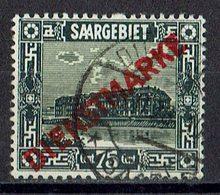 Saargebiet 1923 // Mi. 15 O - Officials