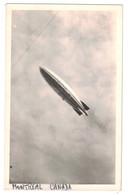 CARTE PHOTO Du VOL Du DIRIGEABLE R.100 à MONTREAL CANADA Le 11 AOUT 1930 (RARE) - Montreal