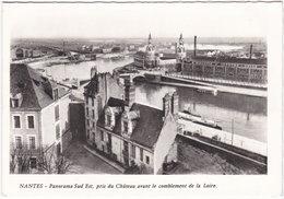 44. Gf. NANTES. Panorama Sud Est, Pris Du Château Avant Le Comblement De La Loire. 699 - Nantes