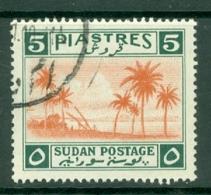 Sdn: 1941   Tuti Island   SG91    5P    Used - Sudan (...-1951)