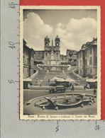 CARTOLINA NV ITALIA - ROMA - Piazza Di Spagna E Scalinata S. Trinità Dei Monti - Brunner & C - 10 X 15 - Piazze