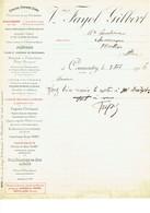 Commentry Vve Fayol Gilbert Platres Courrier 1916 - France