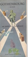 GOTHEMBOURG SUEDE , Toeristische Brochure 1952. Göteborg, Sweden - Dépliants Touristiques