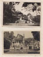 9AL736 VIET NAN SAIGON PHNAM PANH BATIMENTS Lot De 2 Cartes 2 SCANS - Viêt-Nam