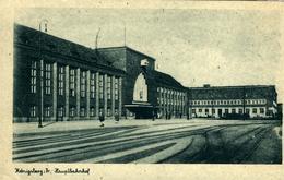 KALININGRAD HAUPT BAHNHOF RUSSIE (anciennement Königsberg En Allemand) - Russie