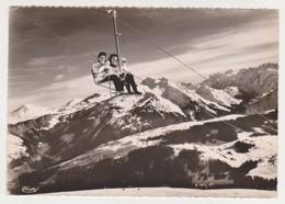 26932 Les Gets France -alpes Teleski Telesiege Mont Chery -neige Ski 4 Cim - - Sports D'hiver