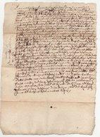 Acte 1675 - Manuscrits