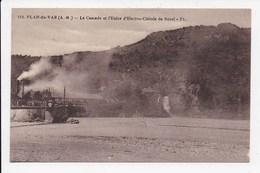 CPA 06 PLAN DU VAR La Cascade De L'usine Electro Chimie De Bozel - France