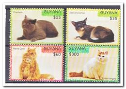 Guyana 2007, Postfris MNH, Cats - Guyana (1966-...)