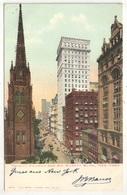 Trinity Church And AM. Surety Bldg., New York  - 1906 - Églises