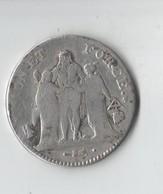 5 FRANC   UNION ET FORCE . L AN 7 .L. BAYONNE - 1789-1795 Monnaies Constitutionnelles